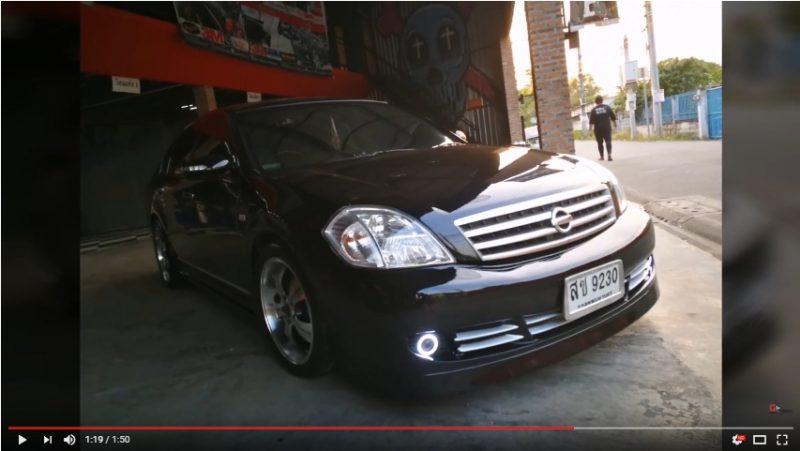 แต่งรถ Nissan Teana J31 ปี 2004- 2008 ชุดแต่ง Perfume