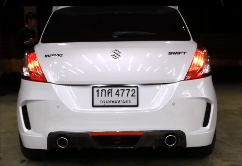แต่งรถ Suzuki Swift 2012 ชุดแต่ง S Concept