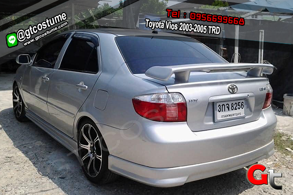 แต่งรถ TOYOTA Vios ปี-2003-2005 ชุดแต่ง TRD