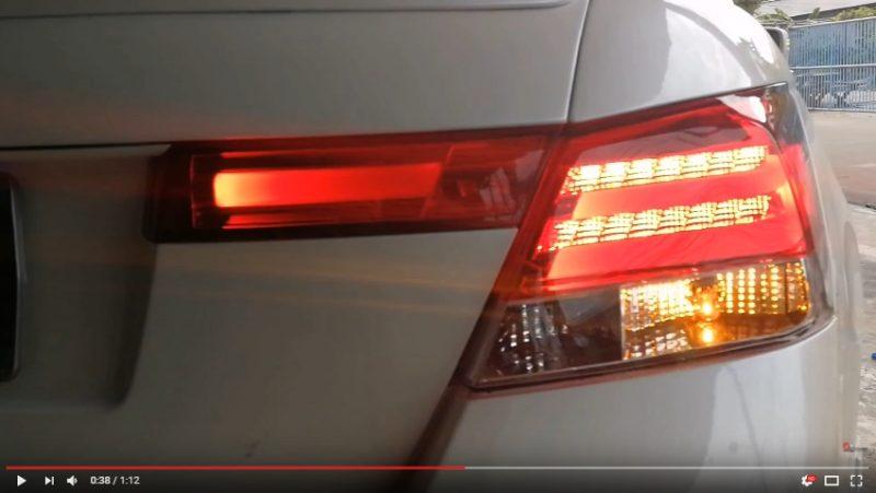 แต่งรถ Accord G8 2008-2012 ไฟท้ายแต่ง BMW Series 5
