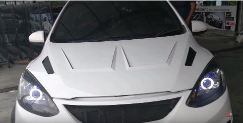 แต่งรถ Mazda 2 4 ประตู ปี 2009-2012 ชุดแต่ง R8