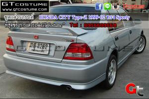 Honda City Type-Z 1999-02 ชุดแต่ง Sporty 5