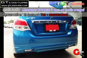 gtcostume Mitsubishi ATTRAGE ปี 2013-16 ชุดแต่ง ทรงศูนย์ 5