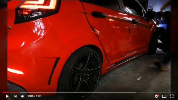 แต่งรถ FORD Fiesta 5ประตู 2010-2014 ชุดแต่ง GTR Costume