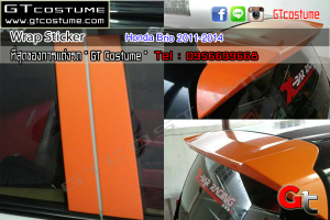 Wrap Sticker Honda Brio 2011-2014 4