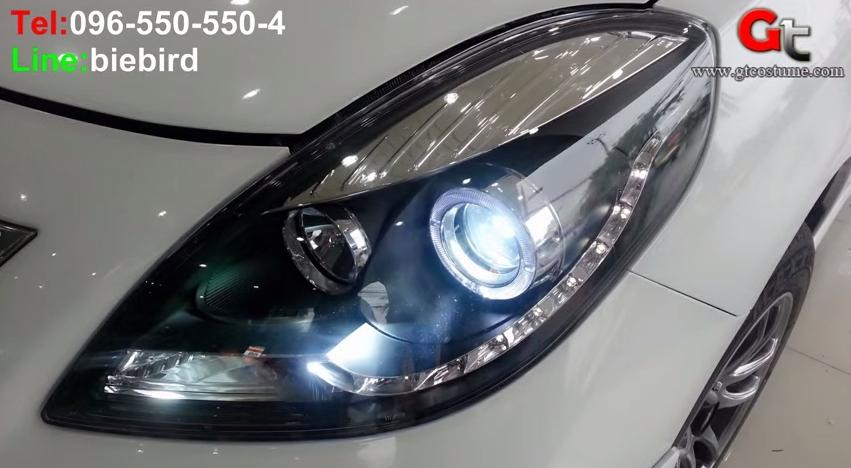 แต่งรถ NISSAN Almera ปี 2012-2015 โคมไฟหน้าแต่ง V1