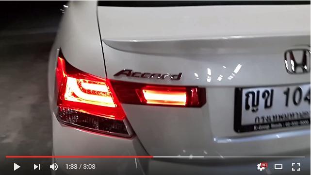 แต่งรถ Honda Accord G8 ชุดแต่ง K-Brake 13