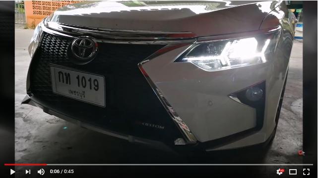 แต่งรถ Toyota Camry 2015 ชุดแต่ง LEXUS