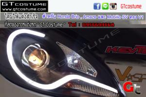 Head Light for Honda Brio , Amaze และ Mobilio SV ทรง V1 4