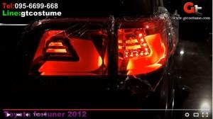 ทำไฟ Toyota Fortuner 2012 โดย GT Costume 12