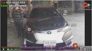 ชุดแต่งรอบคัน Toyota Vios 2013-17 ชุดแต่ง New K Brake คันแรกของประเทศ 16