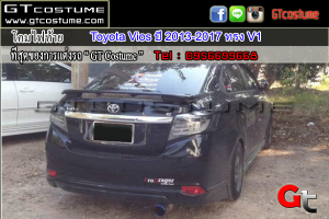 โคมไฟท้าย Toyota Vios ปี 2013-2017 ทรง V1 2