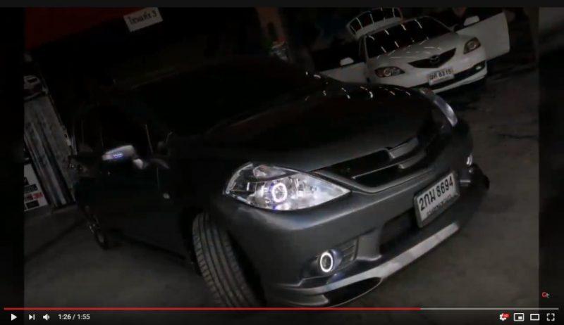 แต่งรถ Nissan Tiida 2006-2012 ชุดแต่ง Impul