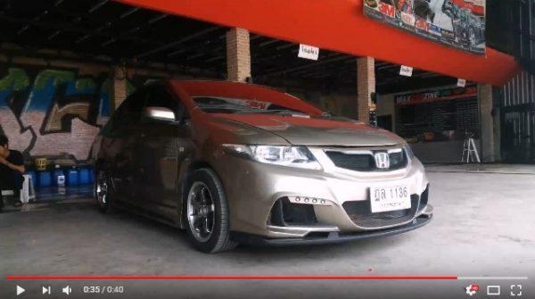 แต่งรถ Honda City 2012 ชุดแต่ง M Tect