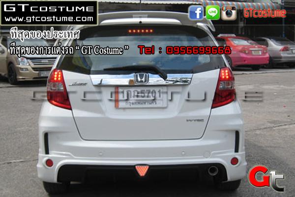 แต่งรถ Honda Jazz GE ปี 2012 ตัว Top ชุดแต่ง Mugenn
