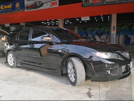 แต่งรถ Mazda 3 ปี 2005 - 2010 กันชนหน้า Speed