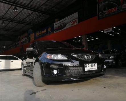 แต่งรถ Mazda 3 ปี 2005 – 2010 กันชนหน้า Speed