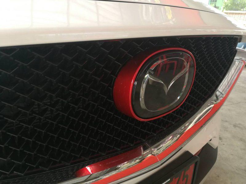 แต่งรถ Mazda CX5 ปี 2018 ครอบ Logo