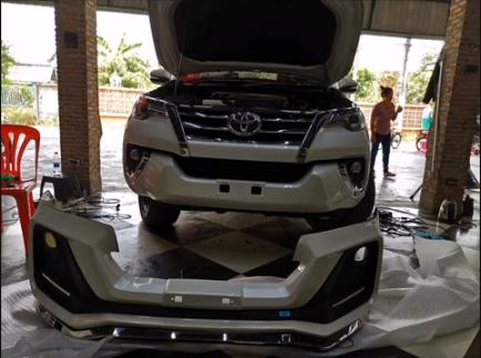 แต่งรถ Toyota Fortuner ปี 2015 ชุดแต่ง Apollo
