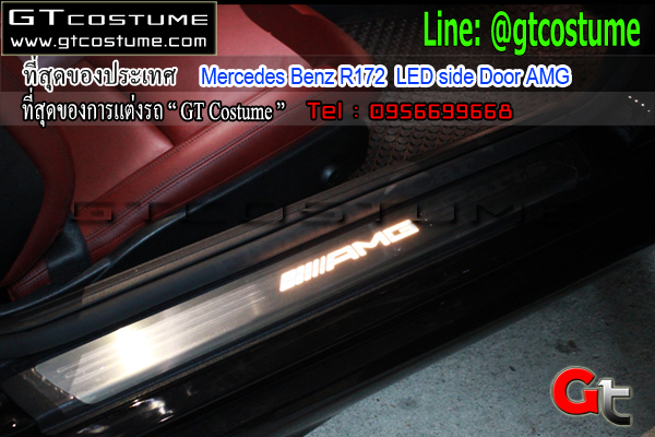 แต่งรถ Mercedes Benz R172 LED side Door AMG