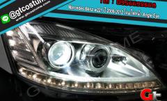 แต่งรถ Mercedes Benz w221 ปี 2006-2012 โคมไฟหน้า Angle Eye