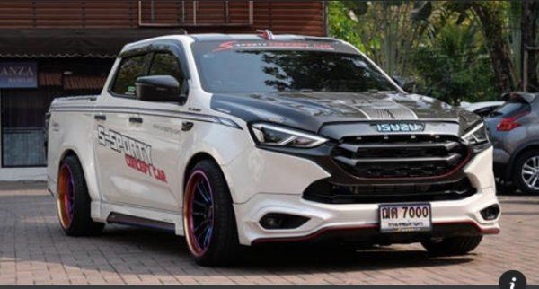 แต่งรถ Isuzu D Max 2020 แปลงหน้า Mu X 2021